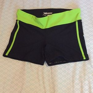 Work out or gymnastics/dance shorts